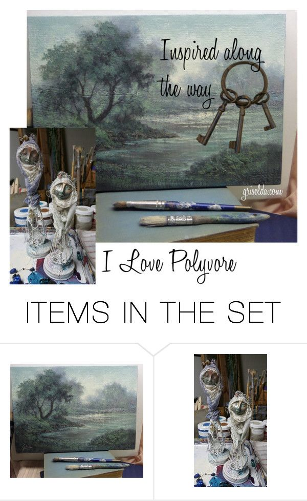"""""""Inspiration"""" by artspirit on Polyvore featuring art"""