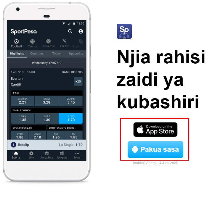 Sportpesa App Tz Download Apk for Android and iOS