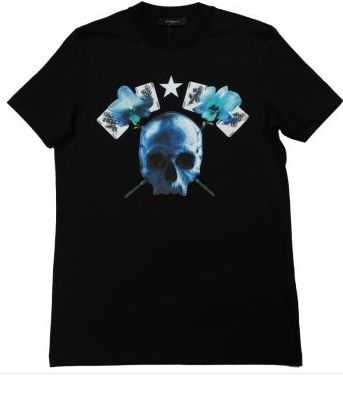 Givenchy Skull and Cards Shirt