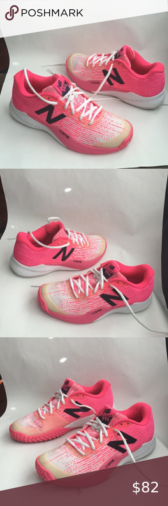 New Balance Probank 996 Knitted Athletic Sneakers New Balance