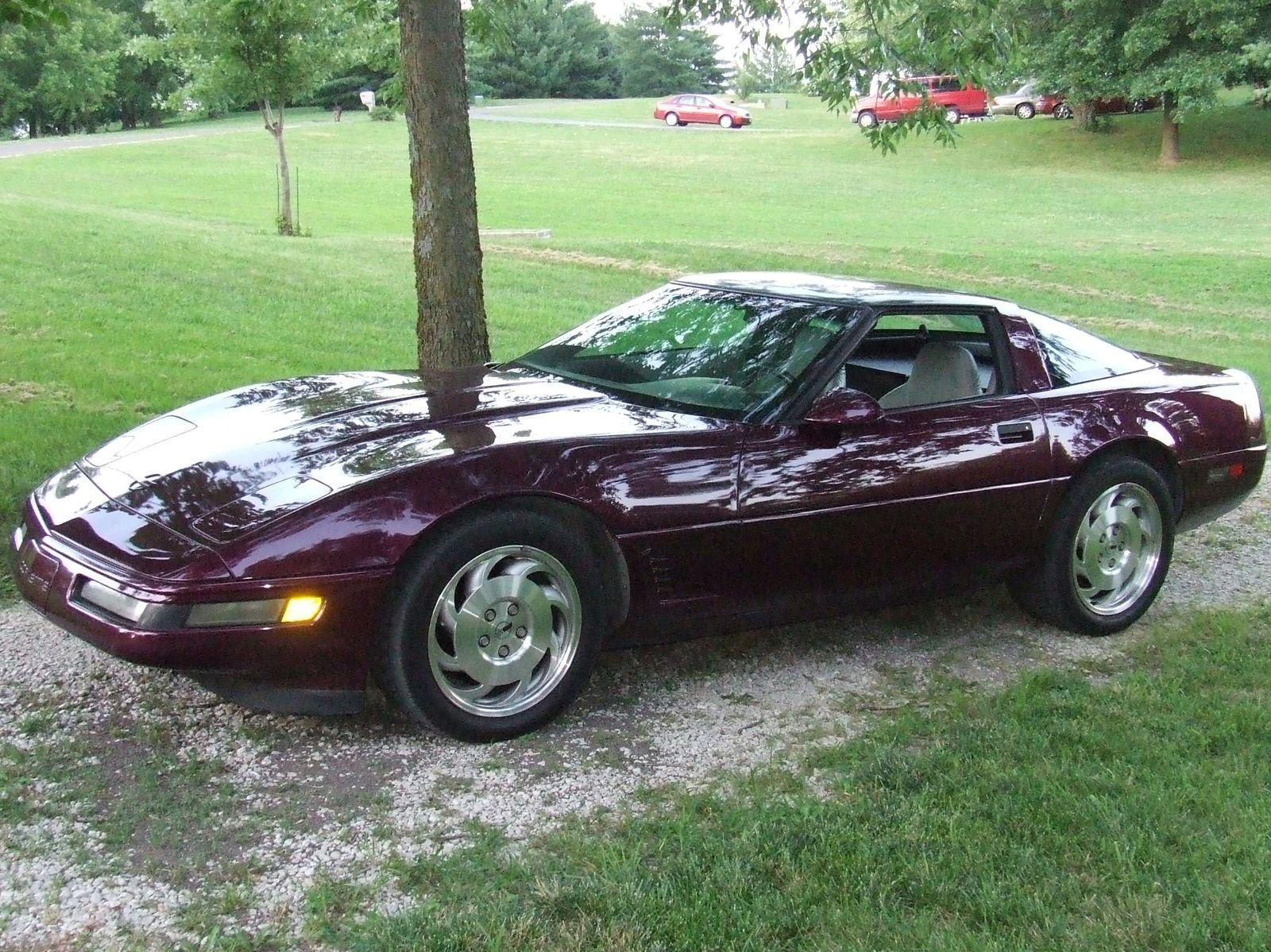 1995 Corvette C4 Chevrolet Corvette Vintage Corvette Corvette