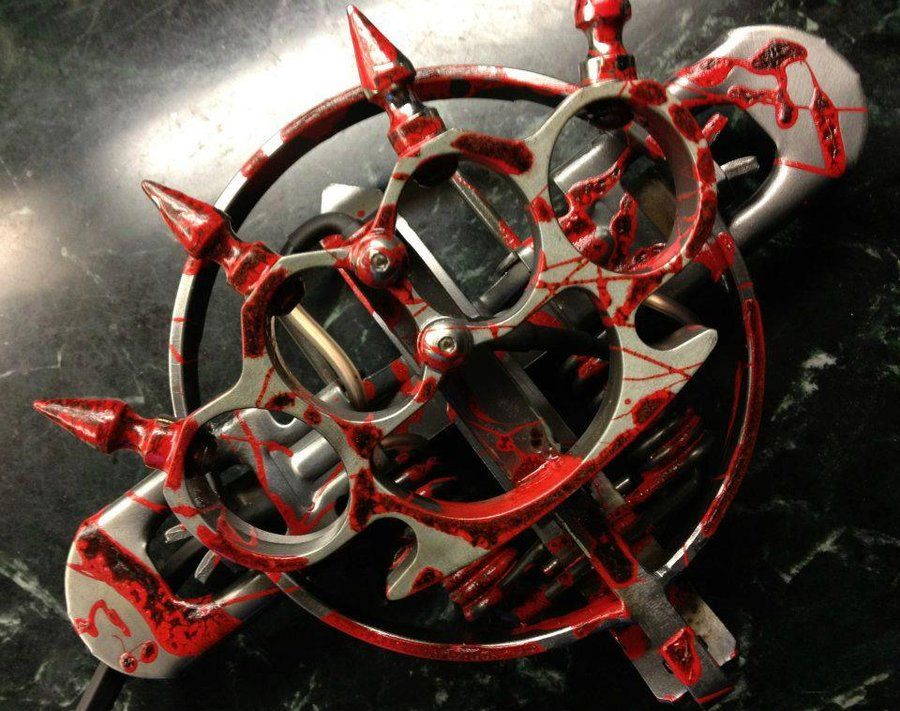 Bloody Knuckle Foot Pedal ... Custom Tattoo Equipment I Would LOVE ...