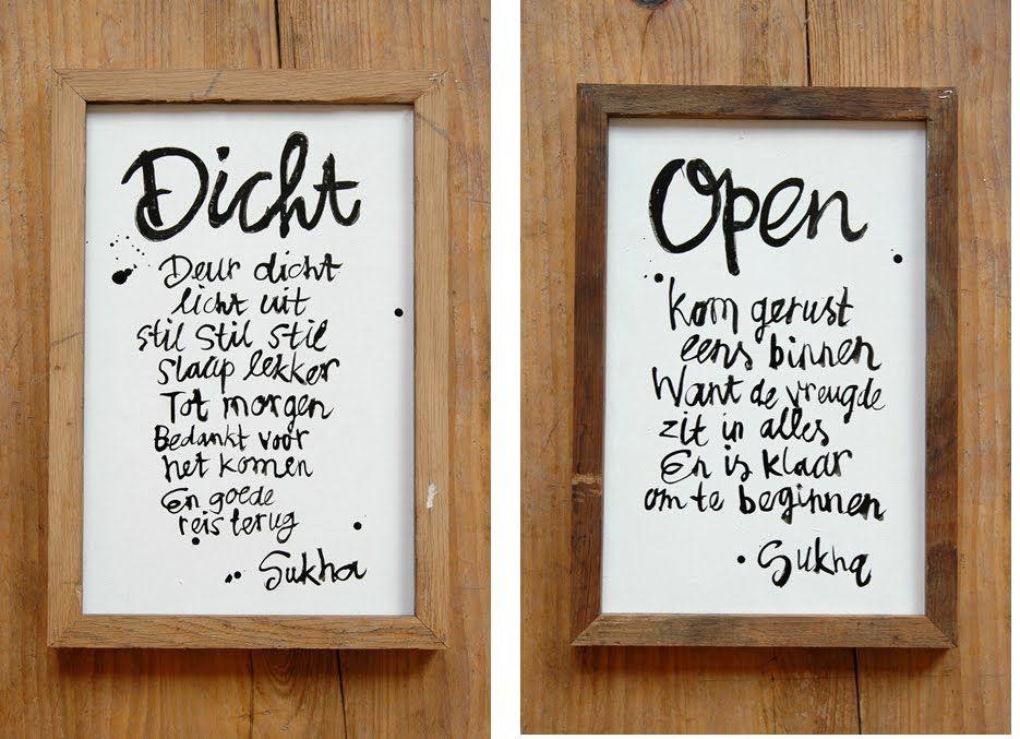 Dicht - Open - Spreuken | Pinterest - Gedichten, Teksten en Spreuken