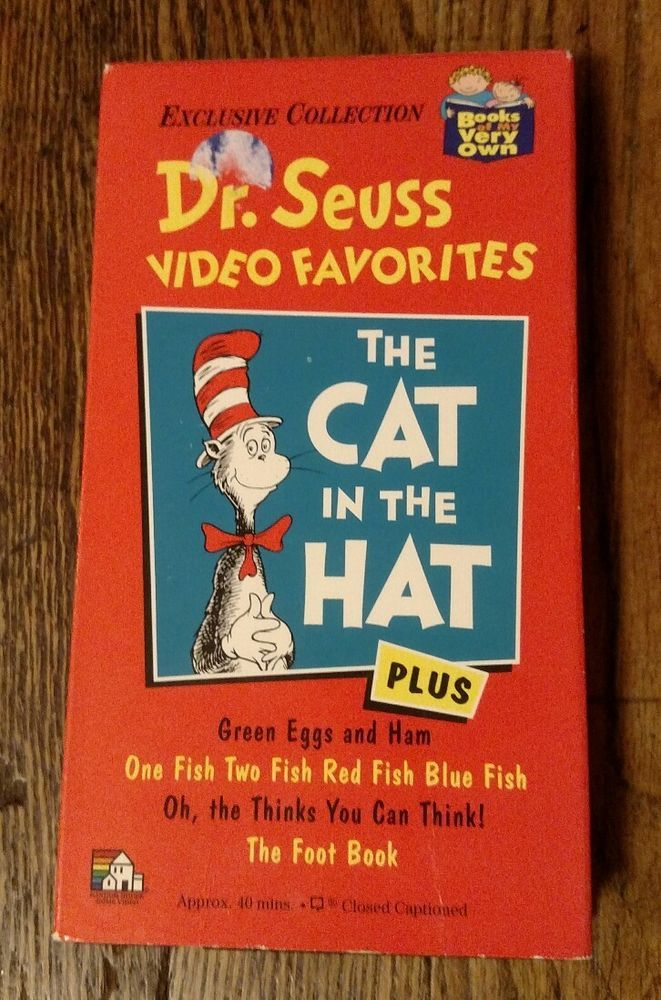 Dr Seuss Video Favorites The Cat In The Hat Plus Green