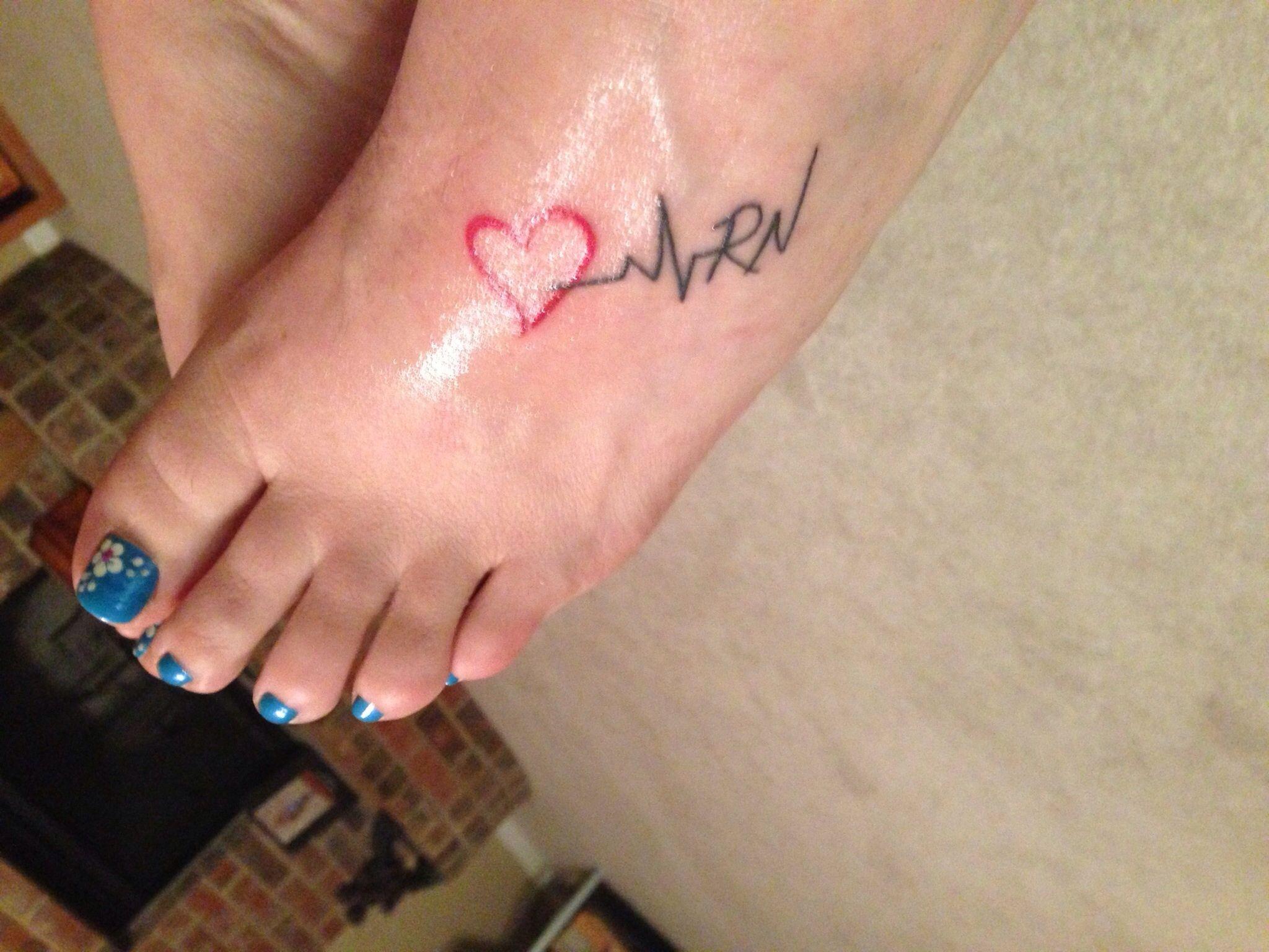 Tattoos tattoo ideas on pinterest rn - Nurse Tattoos Nursing Body Art Mighty Nurse