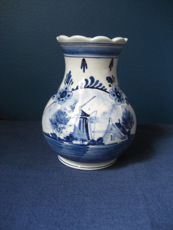Latest Collection Of Delft Blue Dutch Milk Maid Hand Painted Beautiful And Charming Delft