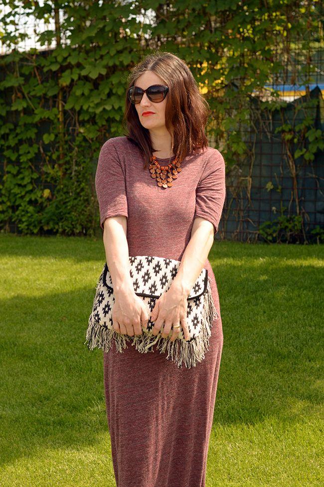 Rochia maxi intro tinuta casual Fashion, Casual, Maxi