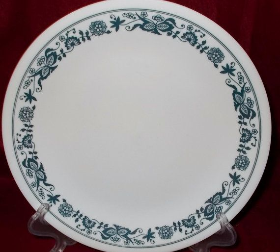 Corelle Blue Onion Old Town Blue Salad Plate Two Corning Ware Corelle Dinnerware Corning Glass Lunch & Corelle Blue Onion Old Town Blue Salad Plate Two Corning Ware ...