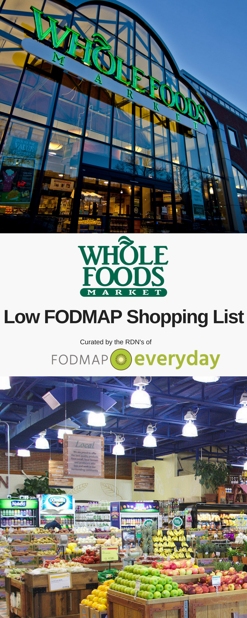 Whole Foods Market Low FODMAP Shopping List | Low FODMAP Recipes