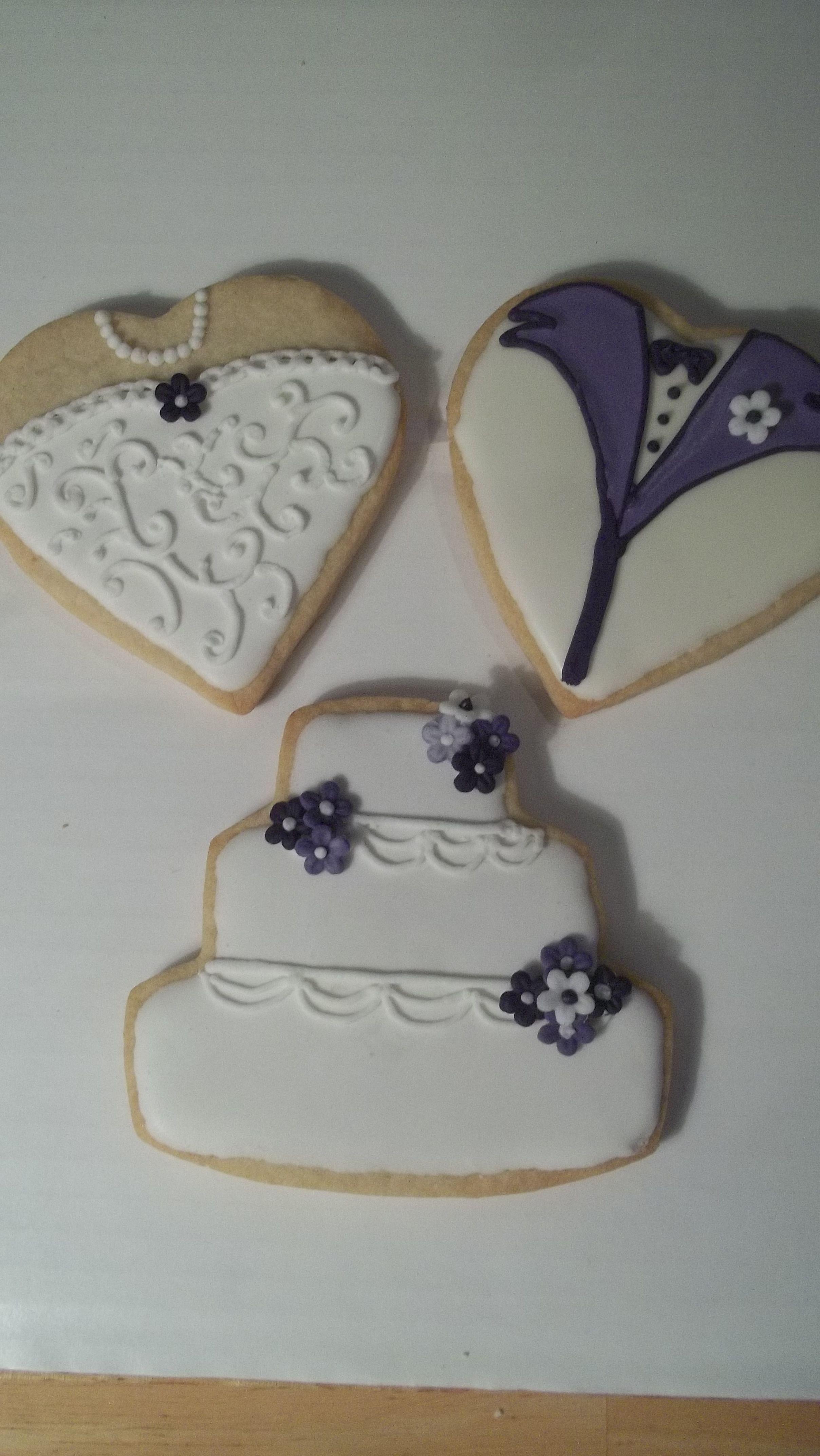 Wedding Cookies 5 Sugar With Royal Icing