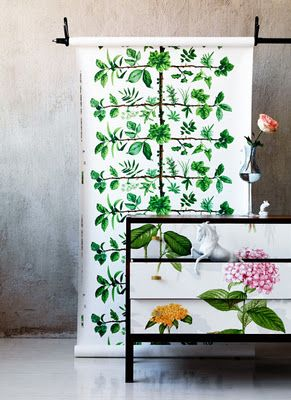 I love this upcycled chest of drawers