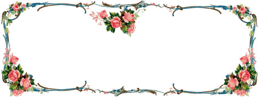 Freebie Images: Matching Victorian Rose Banner and ...