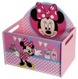 Makkelijk alles verzamelen in deze open mdf speelgoedbox/speelgoedkist. Formaat: 40 x 59 x 56 cm