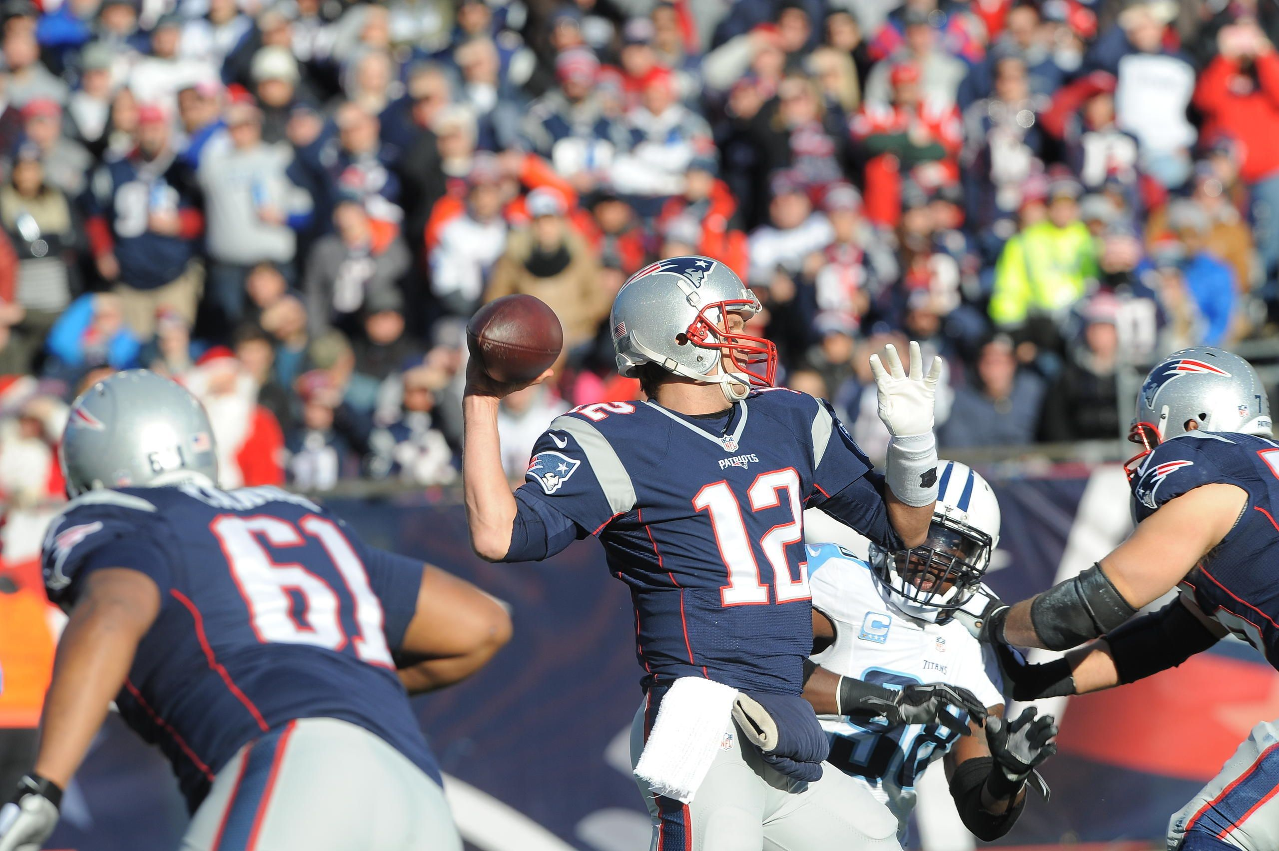 Game Day Photos Titans At Patriots Week 15 Patriots New England Patriots Titans