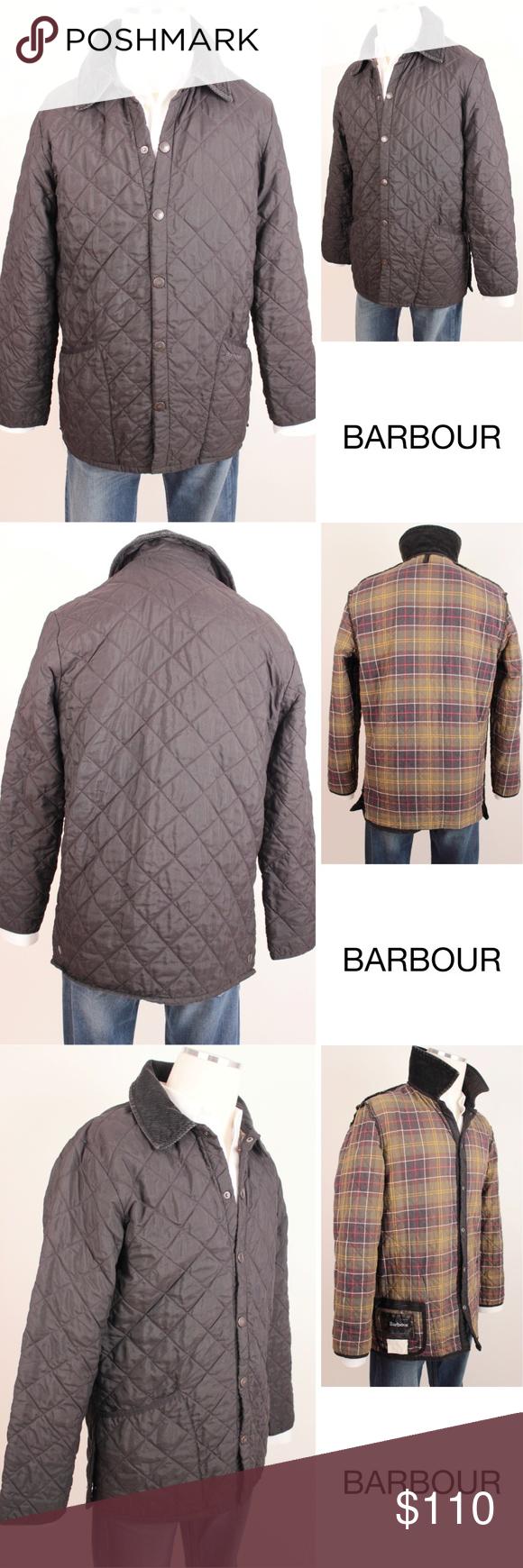 Barbour Eskdale Quilted Black Barn Jacket L - 384 ...