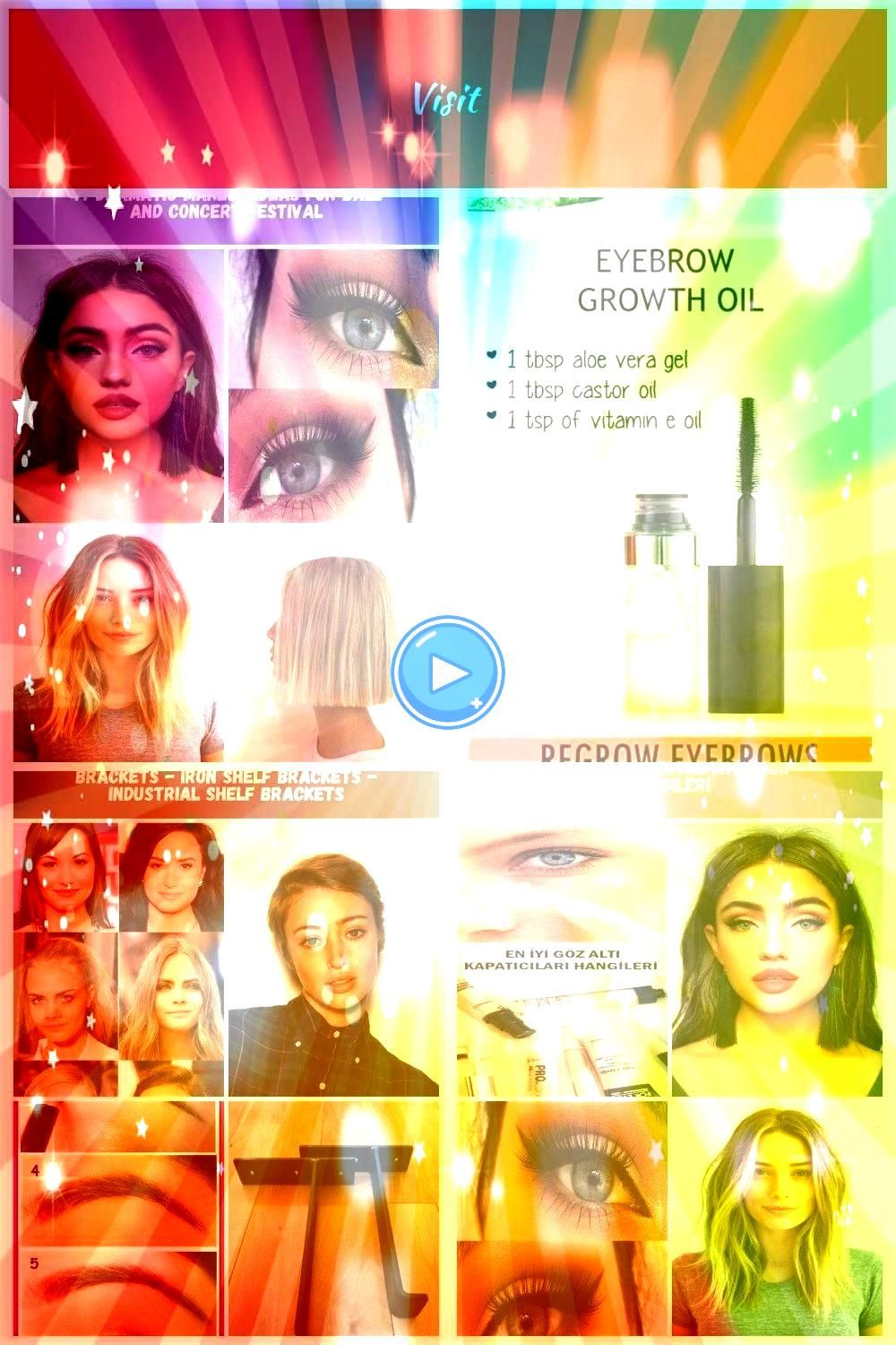 is a best time to play with makeup festive season it is Dicke lippe 47 Dramatic Makeup Ideas for Ball and Concert Festival Dicke lippeIf there is a best time to play with...