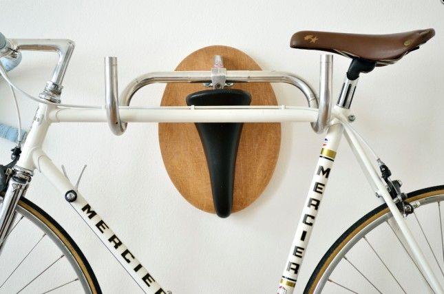 10 Creative Ways To Hang Up Your Bike Bike Hanger Bicycle Hanger Bike Storage