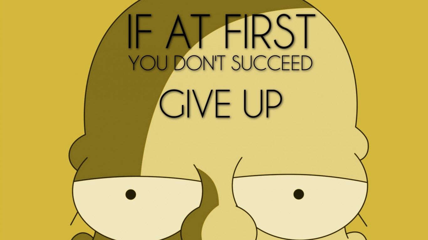 Wonderful Tv Quotes Funny Homer Simpson The Simpsons Wallpaper. Fresh HD Wallpapers  For Your Desktop.