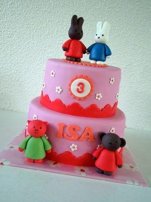 Nijntje en vriendjes taart / Miffy and friends cake