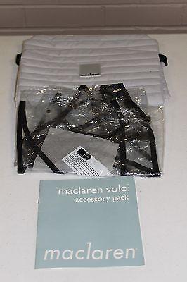 Maclaren Volo Stroller Accessories - Seat Liner & Rain Apron.. USD 9.99