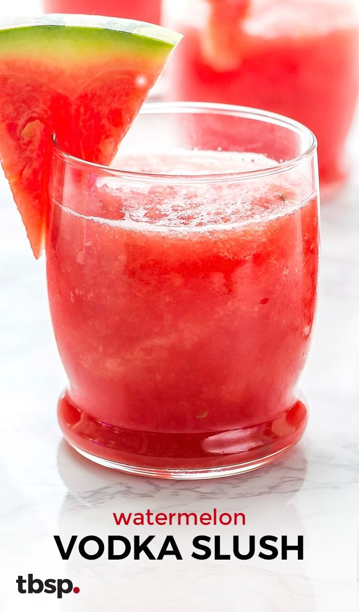 Watermelon vodka slush recipe watermelon granita for Easy vodka drink recipes