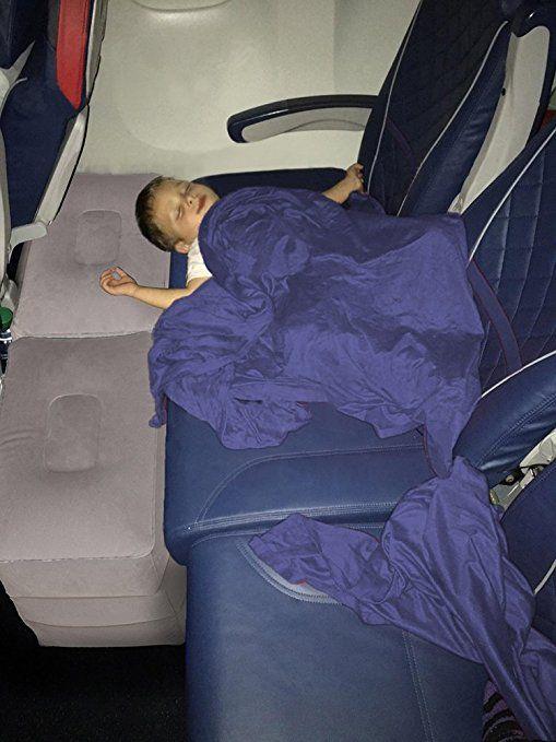 Amazon Com Jjmg New Air Travel Leg Rest Pillow For Resting Feet