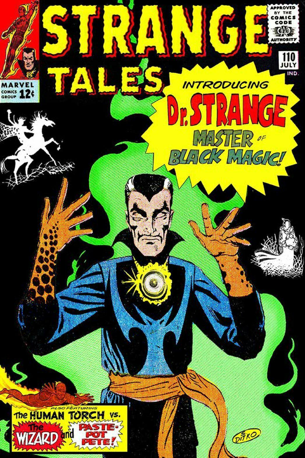 Image result for strange tales 110