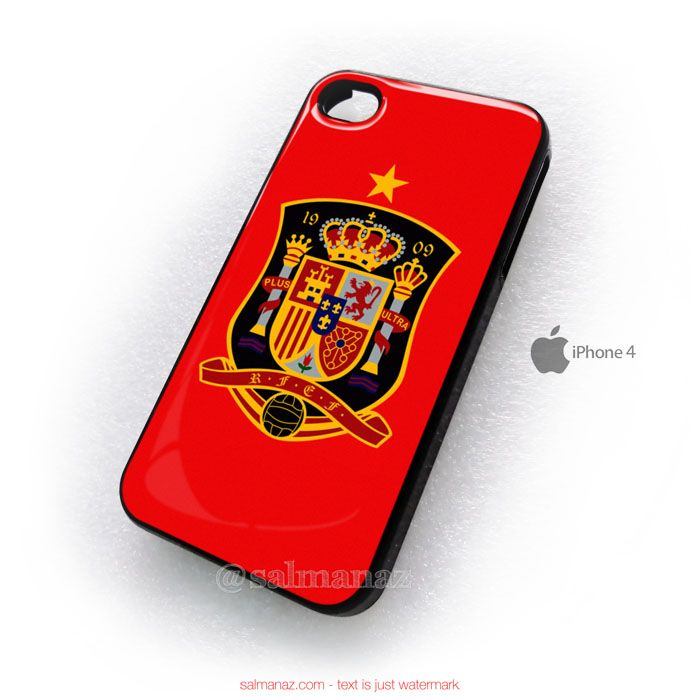 Spain Logo Brazil Fifa World Cup 2014 iPhone 4,4s Cover Case