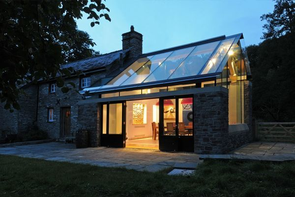 House Designs Featuring Glass Extensions \u2013 Enjoy Nature From The