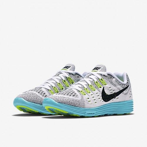 Nike LunarTempo Women's Running Shoe White/Volt/Light Aqua/Black