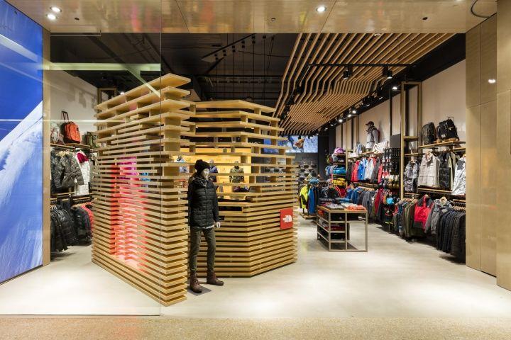 The North Face Bondi Junction Store By CoMa Interior Architecture Studio Sydney Australia