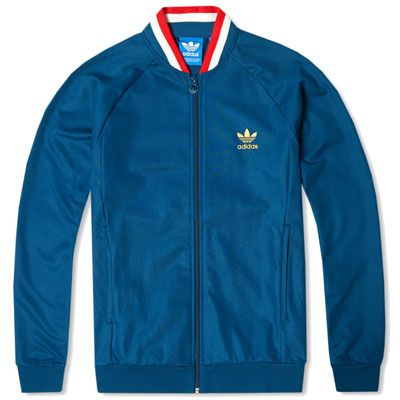 Going old school  Adidas England Retro Track Top  0f7b6d157d