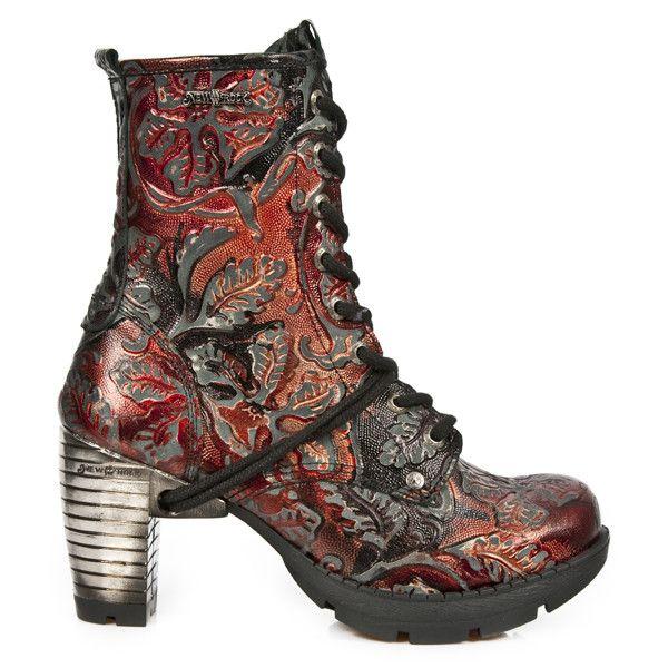 New Rock Stiefel Boots Damen gothic schwarz M.TR003-S1