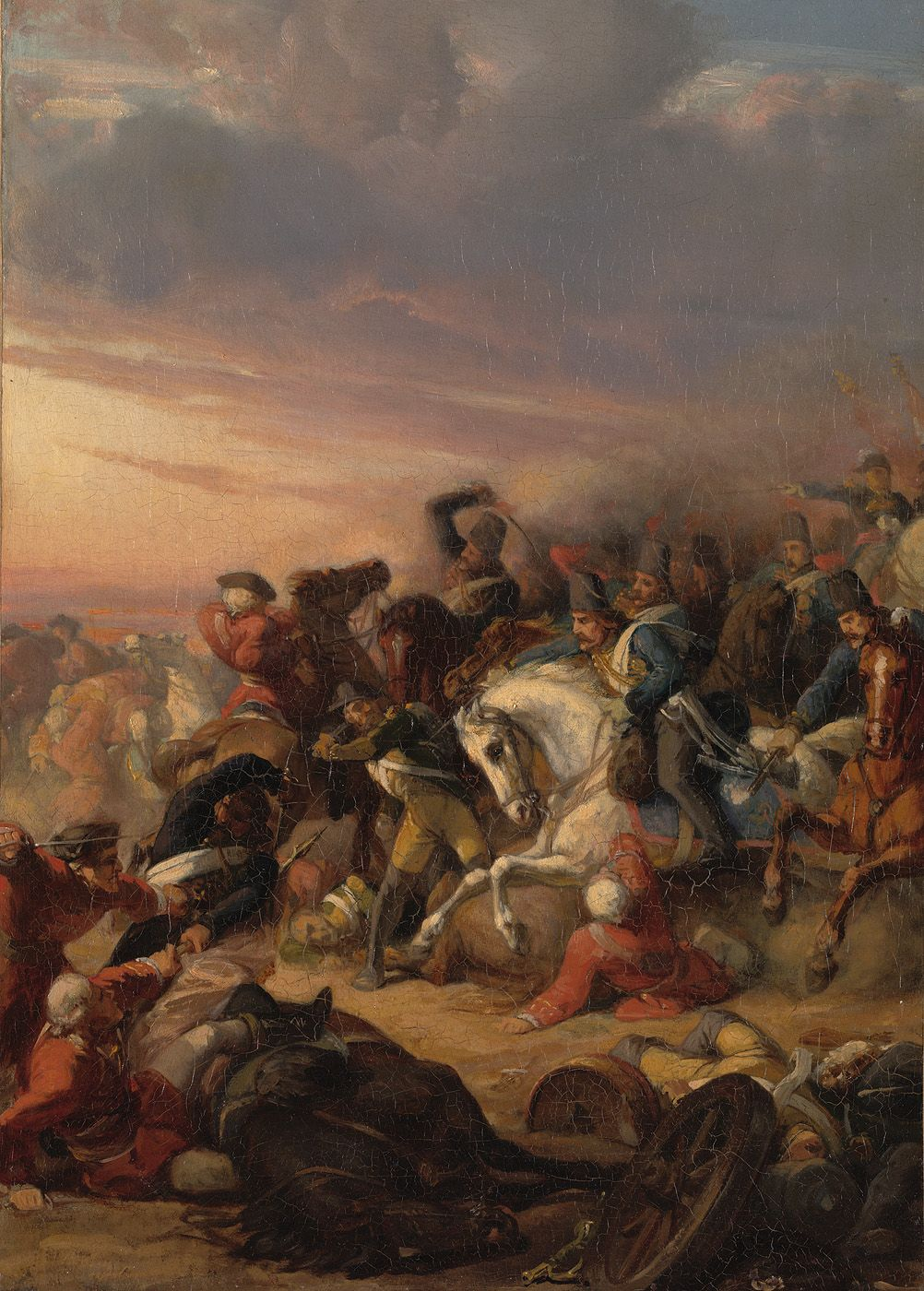 (1799, Oct. 6) Battle of Castricum - French-Dutch victory over the British and Russians.