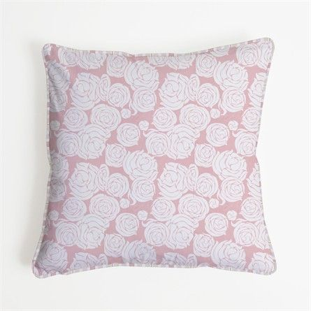 Rose Coral Euro Sham