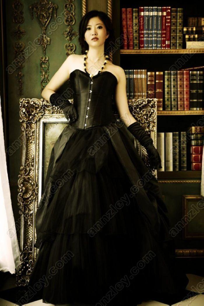 Plus size gothic wedding dresses uk only