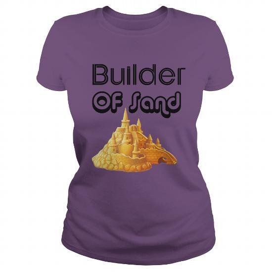 Sand Builder T Shirts, Hoodies. Check price ==► https://www.sunfrog.com/Jobs/Sand-Builder-Purple-Ladies.html?41382 $19