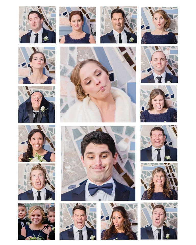 Funny Photo Grid : funny, photo, Funny, Photo, Bridal, Party., Layout, Tutorial, Wed…, Party, Photos,, Wedding, Pictures,, Photography