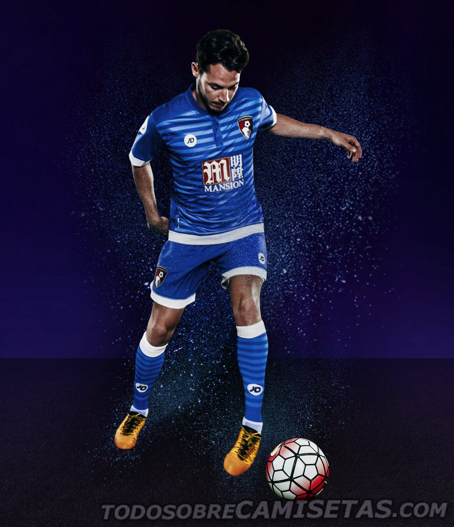 AFC Bournemouth JD Sports 2016-17 Away Kit