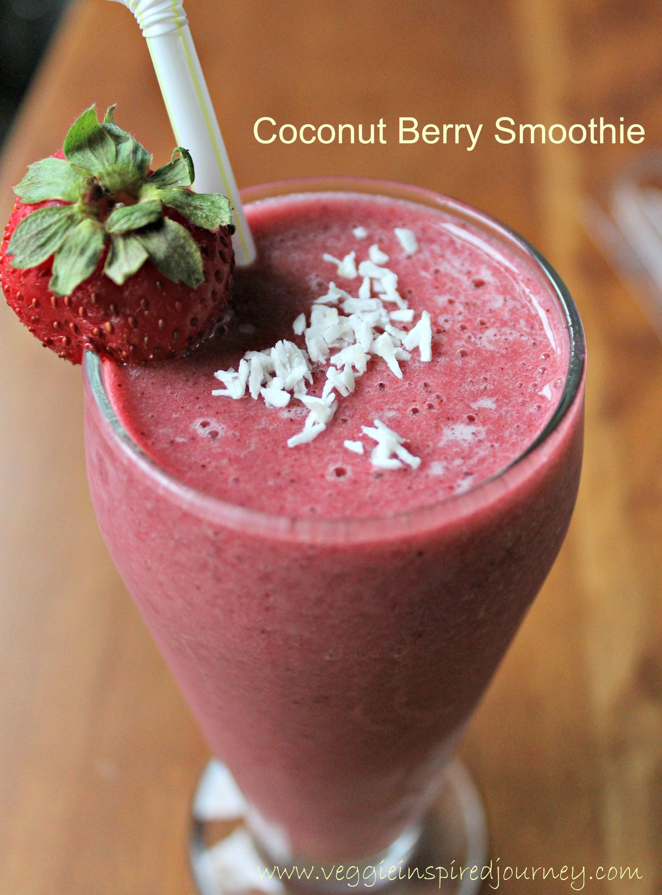Coconut Berry Smoothie
