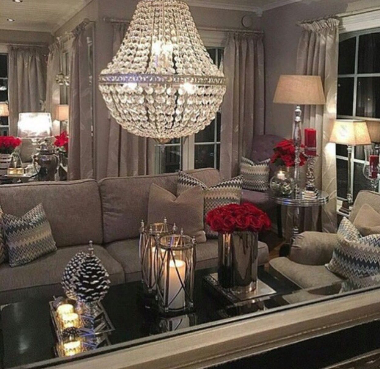 Living Room Decorating And Designs By Tina Barclay: 거실 아이디어, 인테리어, 거실