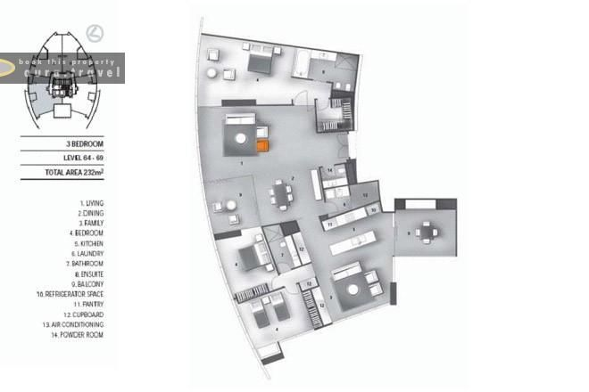 World\u0027s Nicest Resort Floor Plans Floor plan of 3 Bedroom