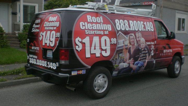Wrapjax Com Full Wrap On Ford Econoline Van For Tri State