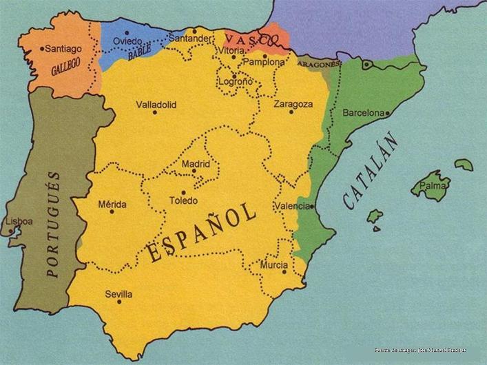 Dialectos De España Mapa.Unidad 2 Lenguas Y Dialectos De Espana Lenguas En Espana