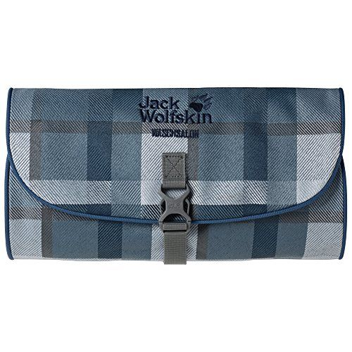 738966ccfb9 Jack Wolfskin Waschsalons Bag Dark Sky Woven Check 1 L ** To view further  for this item, visit the image link.
