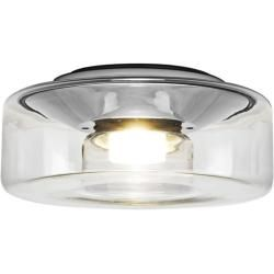 Photo of Serien Lighting Curling L 2700K Deckenleuchte, dimmbar Phasendimmer, Glasschirm klar, Reflektor zyli