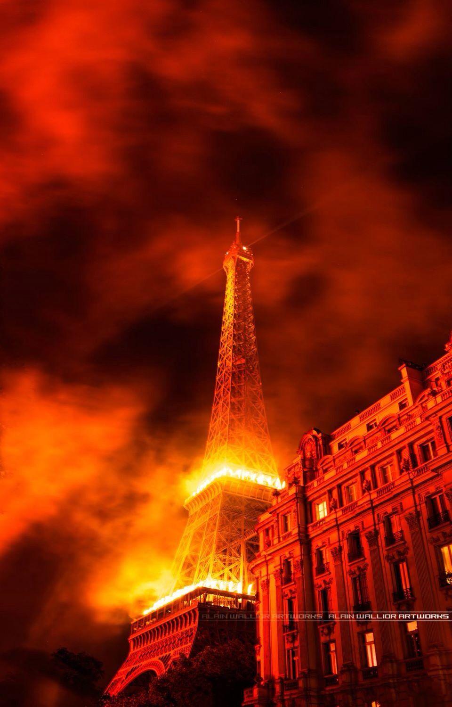 Bastille day 14 juillet 2014 Eiffel Tower Paris
