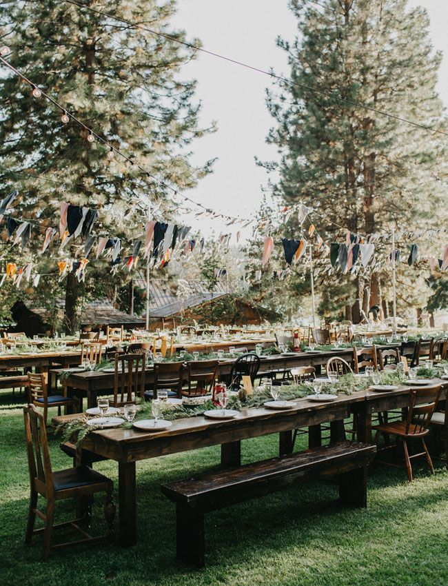 Wes Anderson Wedding in the woods