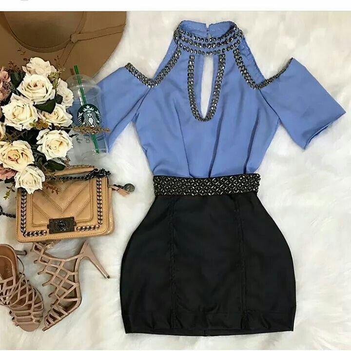 Pin de Gabi Lima en Moda Pinterest Blusas, Ropa y Vestiditos