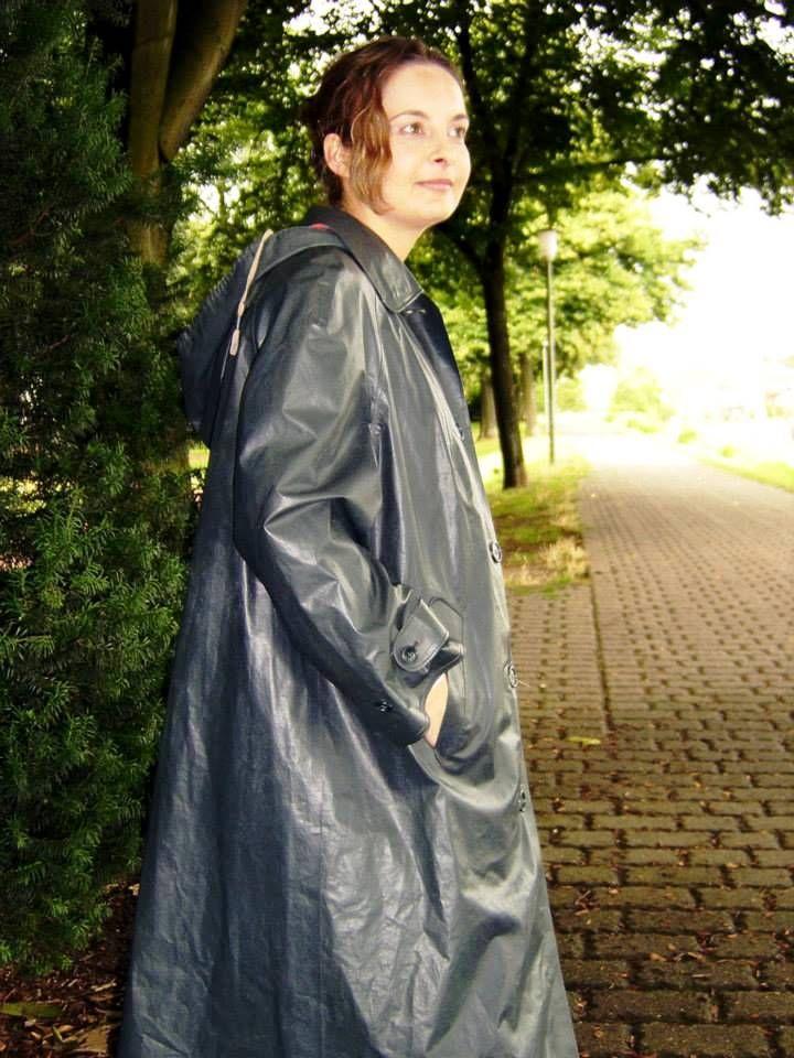 Grey Klepper Coat In 2019 Kleppermantel Regenmantel Und